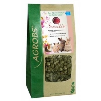 Sensitiv 1 kg - teraviljavaba vähese tärklisega sööt närilistele, küülikutele