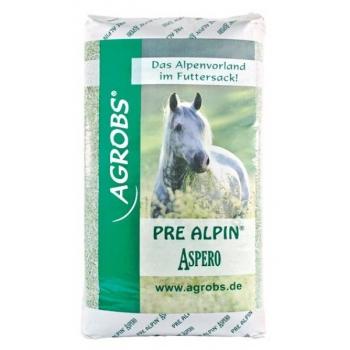 PreAlpin Aspero 20 kg - hakitud hein ja ürdid linaseemneõliga