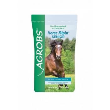 Horse Alpin Senior 15 kg - müsli maisi, odra ja porganditega