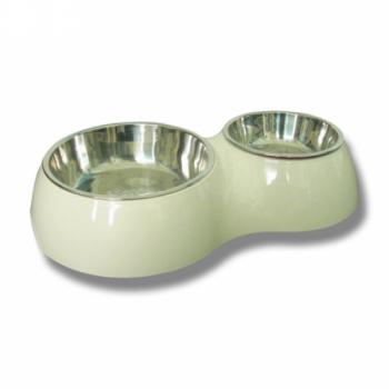 Sööginõud kassile/koerale 350ml+700ml, valge