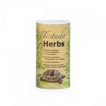 TESTUDO Herbs 500g - täissööt ürtidega kilpkonnadele
