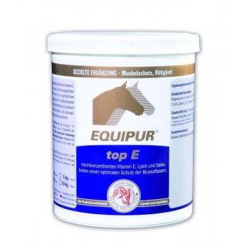 TOP E 1 kg - E-vitamiin, lüsiin ja seleen lihastele - EQUIPUR