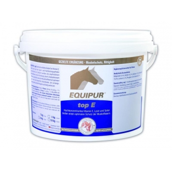 TOP E 3 kg - E-vitamiin, lüsiin ja seleen lihastele - EQUIPUR