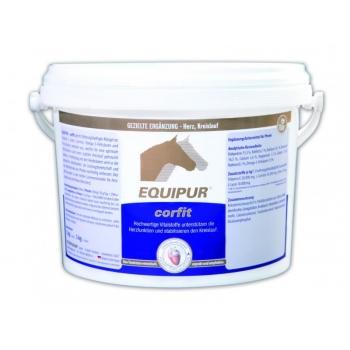 CORFIT 3 kg pelletid - südamele ja veresoonkonnale - EQUIPUR