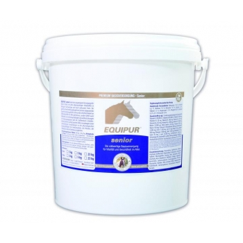 SENIOR 5 kg pelletid - üldmineraal seenior-hobustele - EQUIPUR
